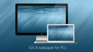 iOS 8 wallpaper for PCs by MilesAndryPrower
