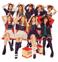 TWICE PNG {Signal #2 2017} HD by soshistars