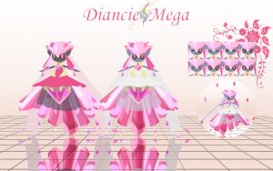 Diancie Mage [Download] by KingdomHeartsNickey