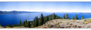 Lake Tahoe Pano by dehrique