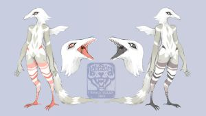 plume dragon design auction! (closed) by babezord