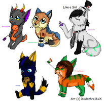 Join.Me Chibi Request Batch by ScottishRedWolf
