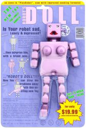 Robots Doll by andidas
