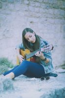 while my guitar... by HammettLady