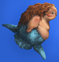 Sunfish mermaid by Keaze