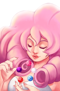Rose Quartz by MidnightZone