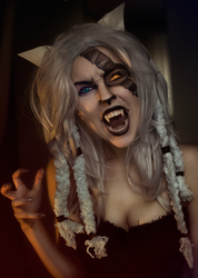Rengar Makeup by Helen-Stifler