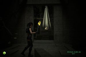 Lara Croft: Crystal Skull by black-kat-3d