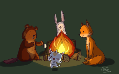 smol woodland creatures by conwolf