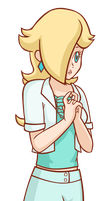 Plain-Clothes Rosalina by LudiculousPegasus