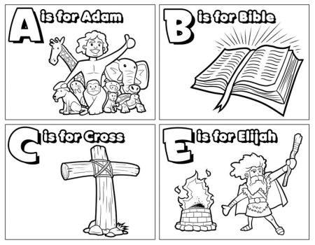 Abc's of the Bible: WIP by ArtistXero