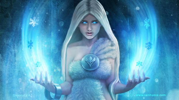 Immortal - Snow Queen - wallpaper by gameogami