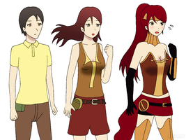 Request: Turn into Pyrrha by gomyugomyu