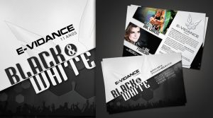Black and White Flyer by tutom