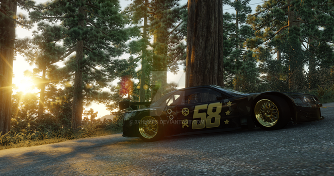 The Crew | Nissan Skyline R34 V-spec - Redwood by 3xhumed