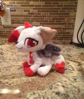 Floppy Plush Commission by Sparkz8D