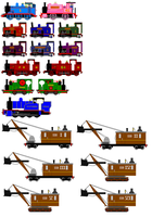 Back to the Railway Series 3 Sprites by JamesFan1991