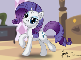 Rarity - Simple Color Try by Snetri