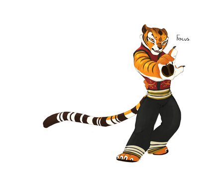 Sifu Tigress by TigresToku