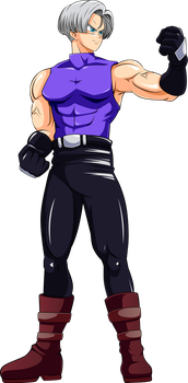 Commission: Trunks as Lee Chao Lan by R-Legend