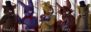 Poster: FNAF 1 by TogeticIsa