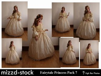 Fairytale Princess Pack 7 by mizzd-stock