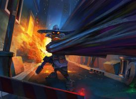 Darkwing Duck by Zutyn
