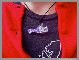 (another) Kanaya Chainsaw Pendant by sparr0