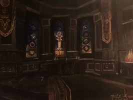 Cathedral at Wayrest by kdrmickey