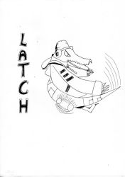 Lethal League Fan Art - Latch by Generune
