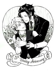 Com: Wedding Anniversary by honeyf