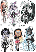 Xynthii Adopts: Barbie-Vibes Collab: CLOSED by ObsceneBarbie