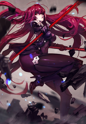 FGO Scathach by dutomaster