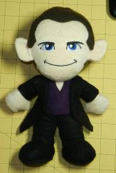 Ninth Doctor Plush by MandyNeko