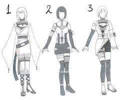 ::FREE Naruto Adopt Outfits:: by Myttens