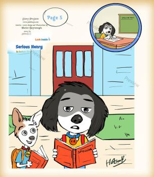 Children picture book illustration by eydii
