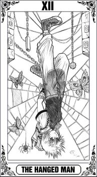 KH Tarot: The Hanged Man by Autumn-Sacura