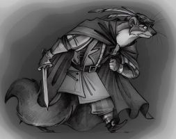 Redwall Villains: Badrang the Tyrant . by FortunataFox