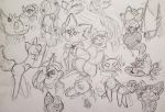 Sketch Dump #1 by Etrenelle