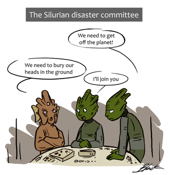 DW - The Silurian disaster committee by caycowa