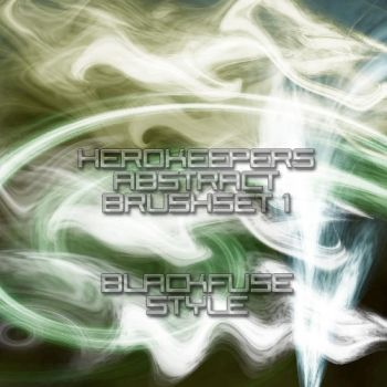 abstract brushes set 1 by herokeeper