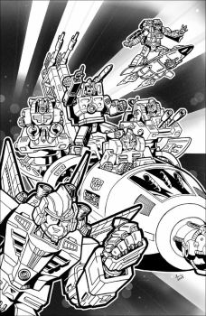 Micromasters Astro Squad by Aricosaur