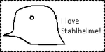 Stahlhelm Stamp by kfirpanther3