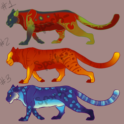 Big Cats Adopts 1 by Spork-
