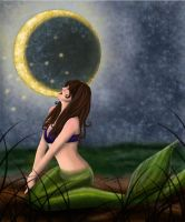 Under the Moon by Ariana-Blossom