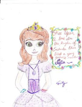 Sofia the first by Emmadog1