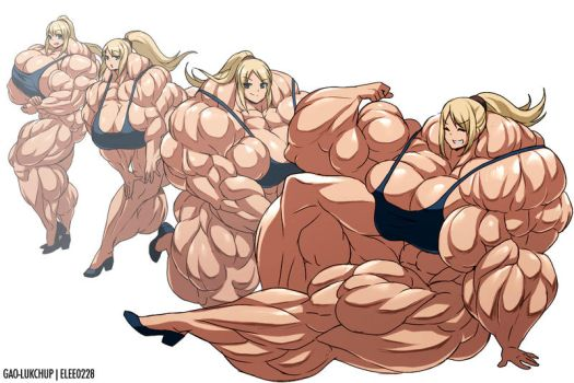 Samus Muscle Growth (Part 4: Level 13-16) by elee0228