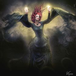 Lady of chaos by Eithen