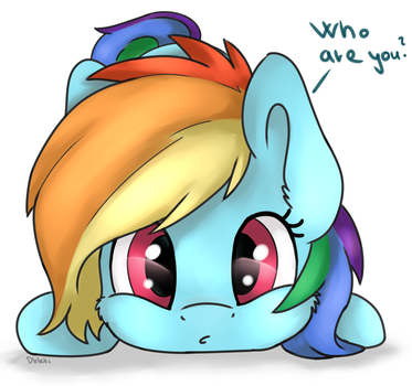 Who are you? by Dbleki