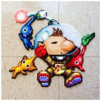 Pikmin and Olimar by Night-TAG